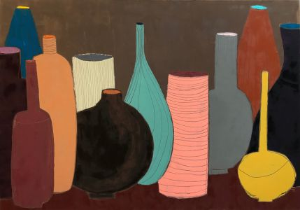Цветни вази
