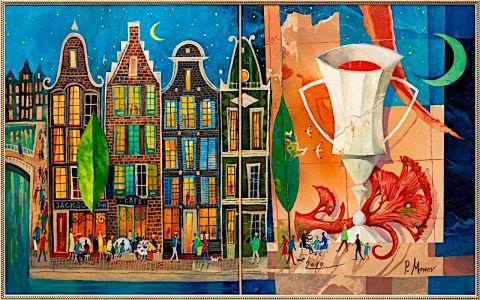 Амстердамски пейзаж I