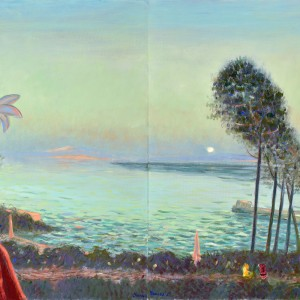 Сутрешен остров, диптих